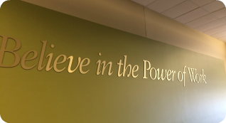 Believe in the Power of Work