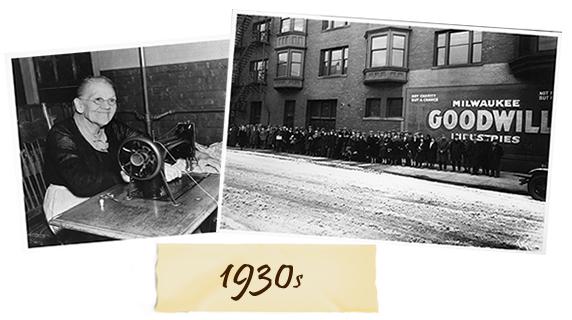 Goodwill 1930s History