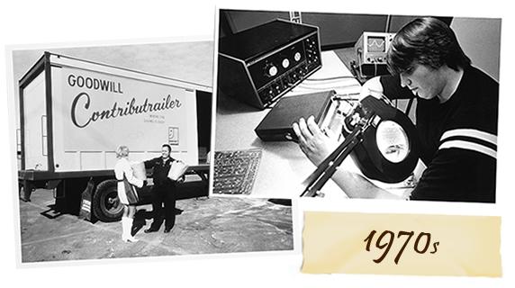 Goodwill 1970s History