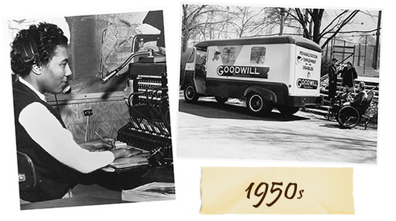 Goodwill 1950s History