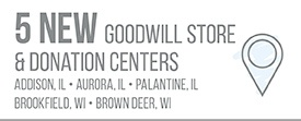 5 New Goodwill Store & Donation Centers