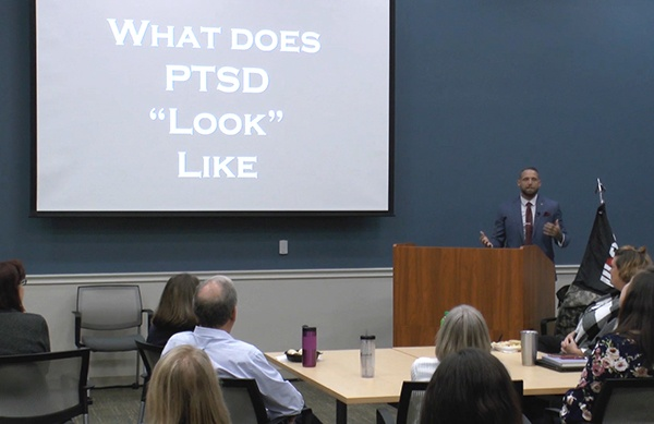 Dan Newberry discusses PTSD
