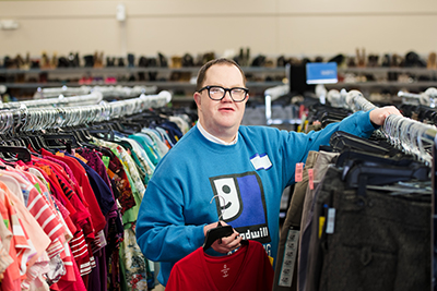 Creighton is a perfect example of someone who truly personifies the Goodwill mission each day.