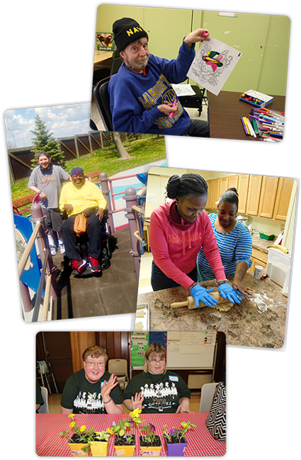 community opportunities club collage