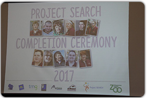 Our Project SEARCH completion ceremony at the Milwaukee County Zoo was held on June 7 and a total of 12 interns completed the program.