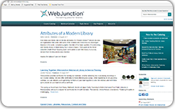 WebJunction is an online library forum