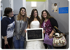 """Goodwill held a """"Say Yes to the Dress"""" wedding event with brand new dresses and vendors on site."""