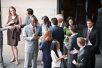 Find networking events that you are passionate about!