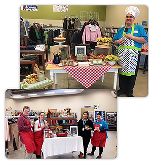 We are offering engaging experiences that keep Goodwill top of mind in our customer's hearts and minds as a place they want to visit and shop. Some examples of these are: store Surprise and Delight events.