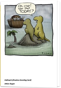 Missed Noah's Ark Funny Encuragement Card by Hallmark