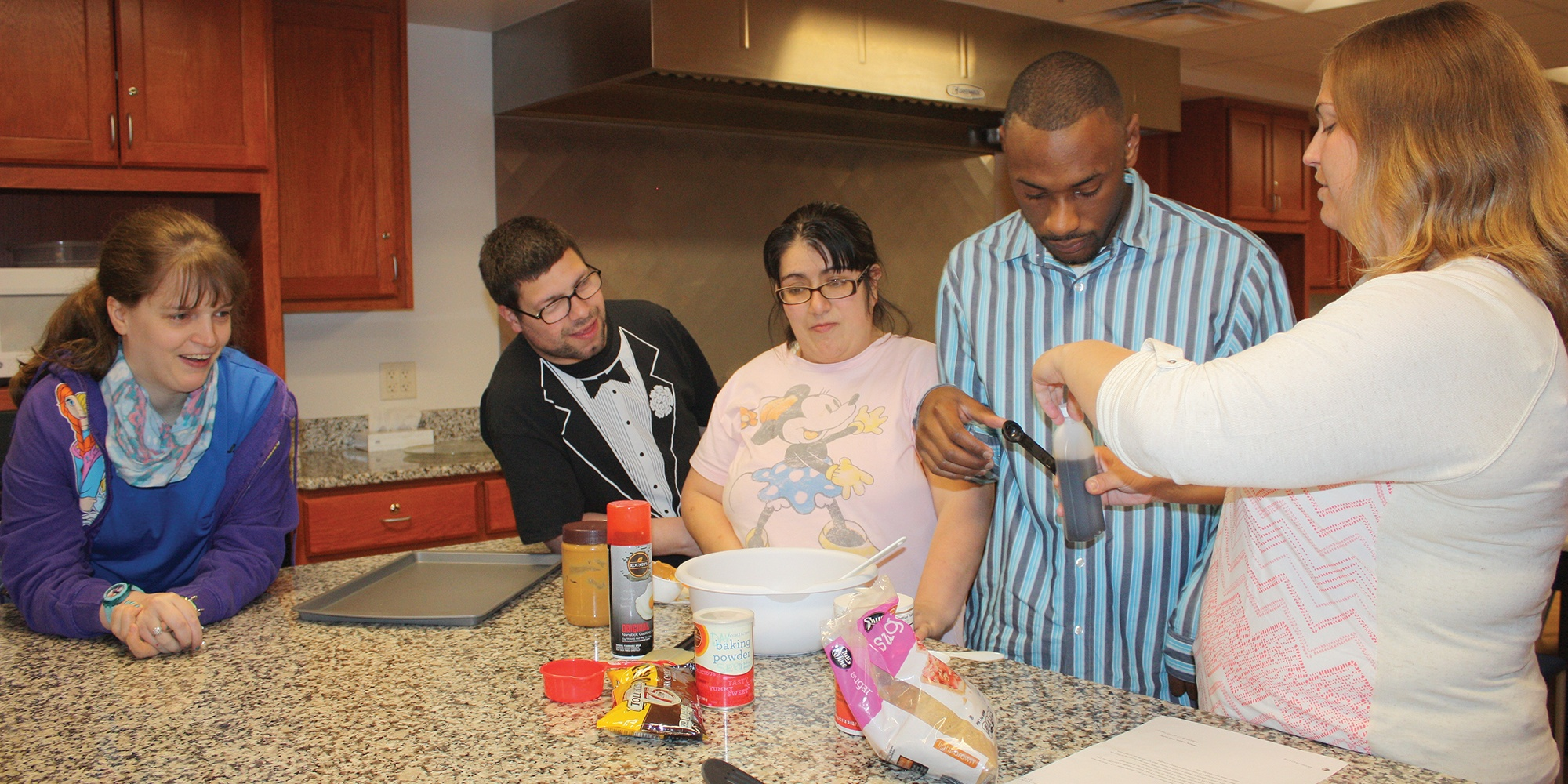 Goodwill's Life Skills Development program supports young adults with developmental disabilities