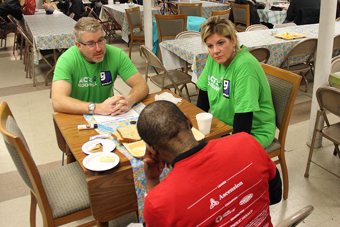 100 Acts of Goodwill: Goodwill Leadership Volunteers at Founding Church