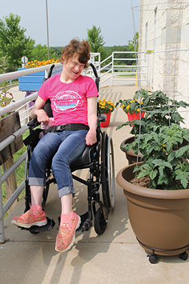 Meet Molly — a fun, active and social young woman who attends Goodwill's Waukesha Day Services program.