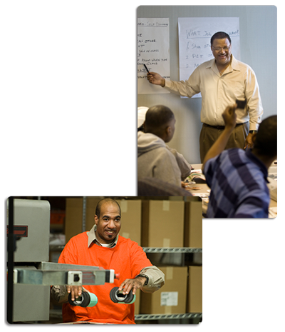 At Goodwill Work Services you are a part of a workplace that is truly yours