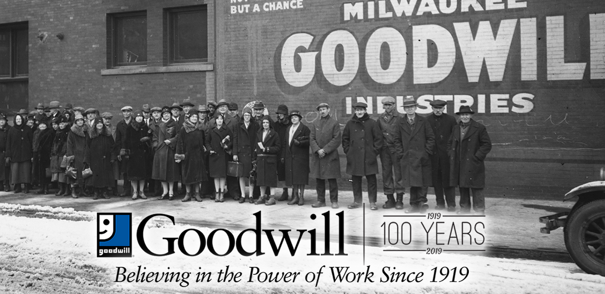 Goodwill - Believing in the Power of Work Since 1919