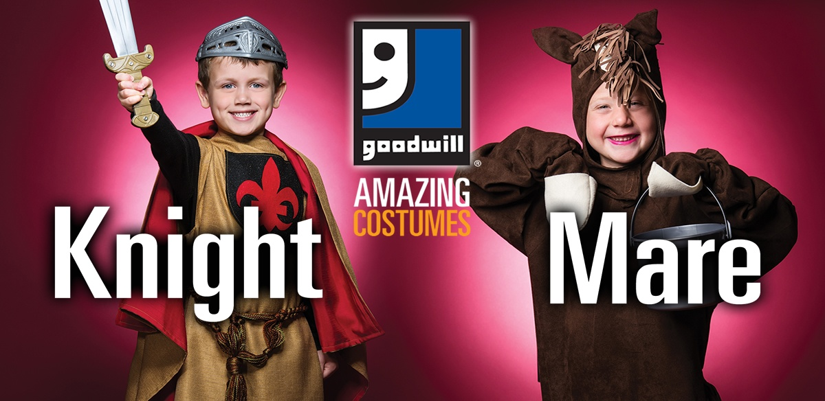 Shop Goodwill for Halloween!