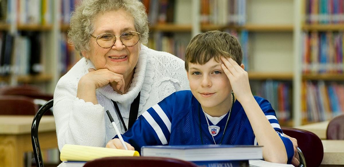 Goodwill's Foster Grandparents Program